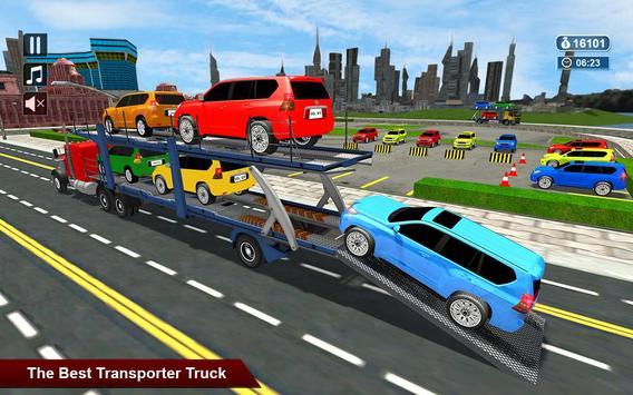 Extreme Car Transporter Trailer 2017 apk screenshot