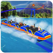 Roller Coaster Water Park Ride icon