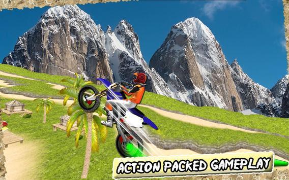 Beach Moto Bike Stunts poster