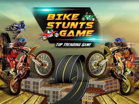 Bike Stunts Game poster