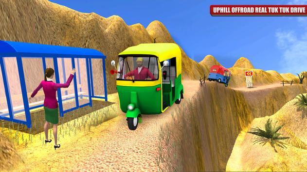 Tuk Tuk Rickshaw Indian Auto Drive apk screenshot