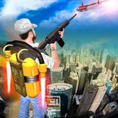 Jetpack Shooter Hero icon