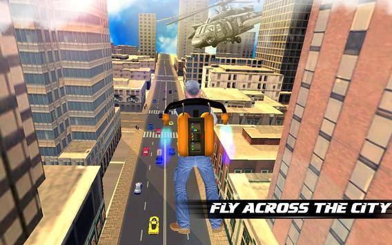 Jetpack Shooter Hero poster
