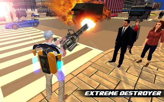 Jetpack Shooter Hero screenshot 11