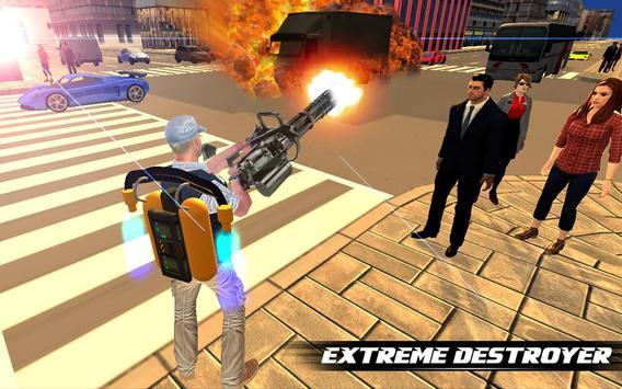 Jetpack Shooter Hero screenshot 6