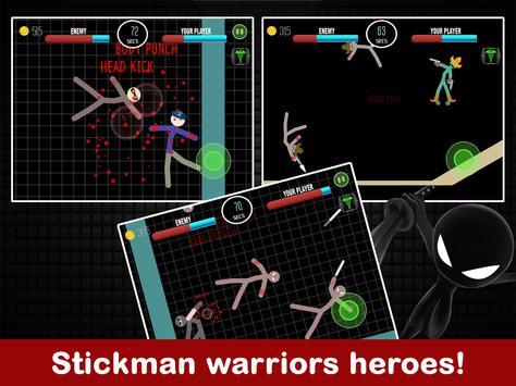 Stickman Fight 2 Player Games screenshot 7