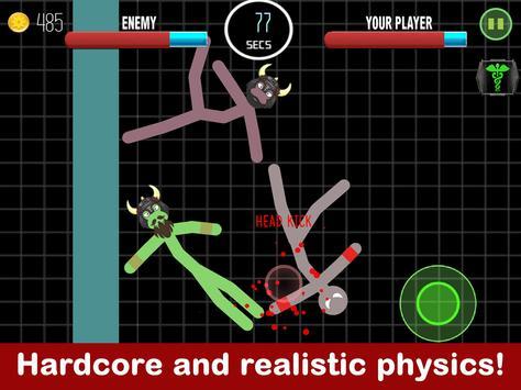 Stickman Fight 2 Player Games screenshot 9