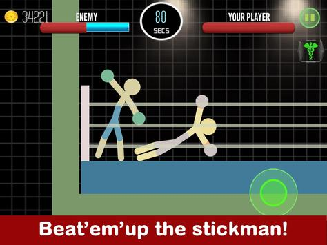 Stickman Fight 2 Player Games poster