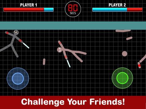 Stickman Fight 2 Player Games screenshot 1