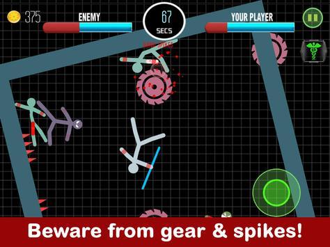 Stickman Fight 2 Player Games screenshot 3