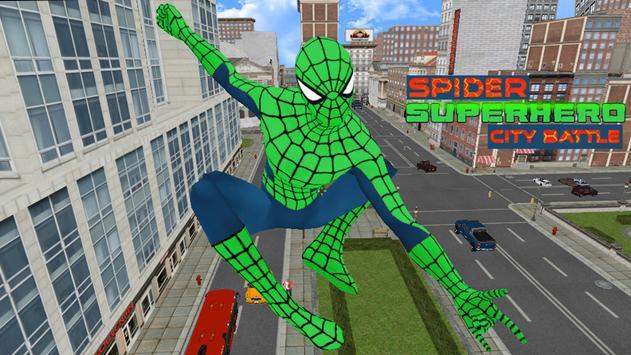 Spider Superhero City Battle screenshot 6
