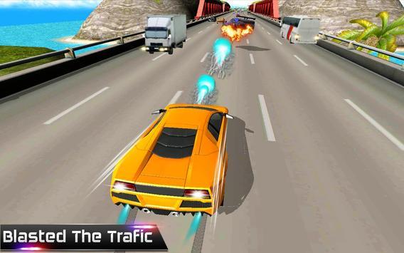 Car Racing in Traffic poster