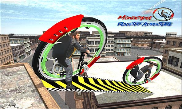 Monowheel Rooftop Simulator poster