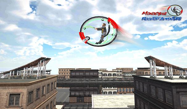 Monowheel Rooftop Simulator screenshot 13