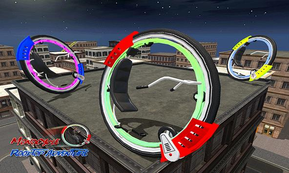 Monowheel Rooftop Simulator screenshot 1