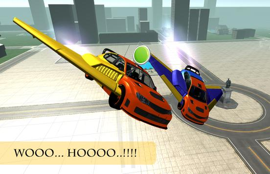Futur Flying Car Racing apk screenshot