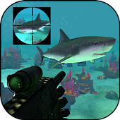 Angry Shark Fish Hunt 2016 icon