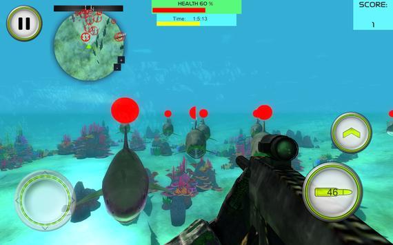 Angry Shark Fish Hunt 2016 apk screenshot