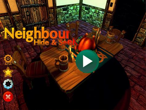 Scary Neighbor Escape Game apk screenshot