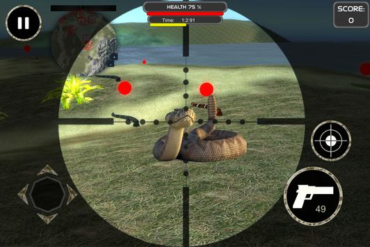 Slithering Snake Hunter 3D 🐍 apk screenshot