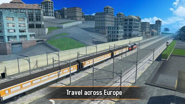 Euro Train Simulator 2017 poster