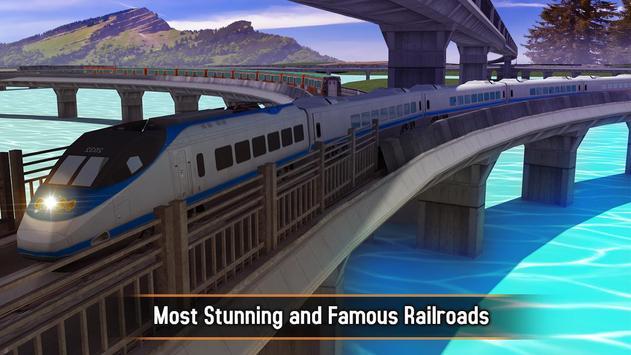 Euro Train Simulator 2017 apk screenshot
