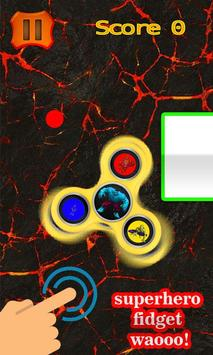 Amazing Superhero's Fidget Spinner apk screenshot