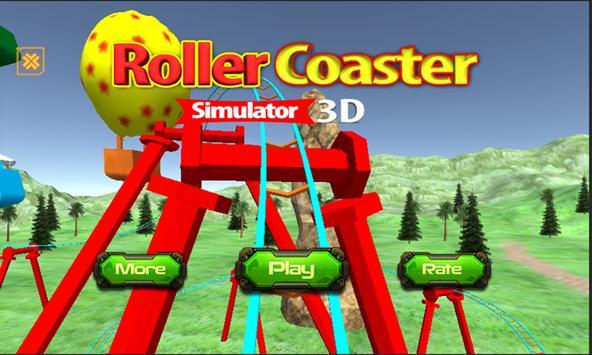 Roller Coaster Simulator3D apk screenshot