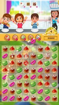 Crazy Bakery - Match 3 Game poster