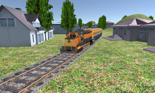 Train Simulator Game 2017 apk screenshot