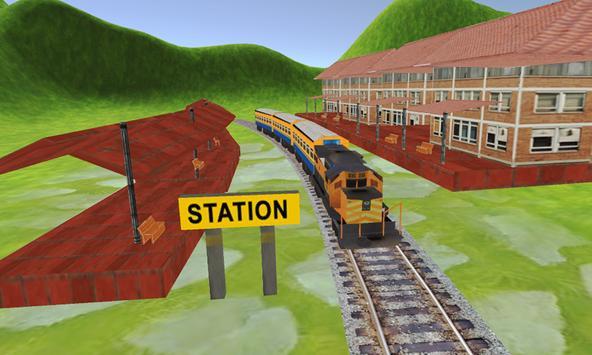Train Simulator Game 2018 apk screenshot