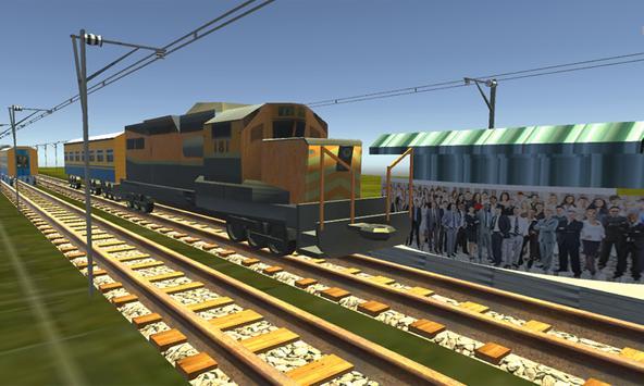 Train Driving Simulator 3D screenshot 7