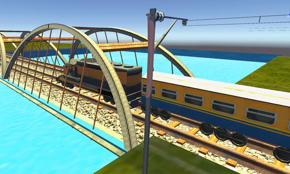 Train Driving Simulator 3D screenshot 9