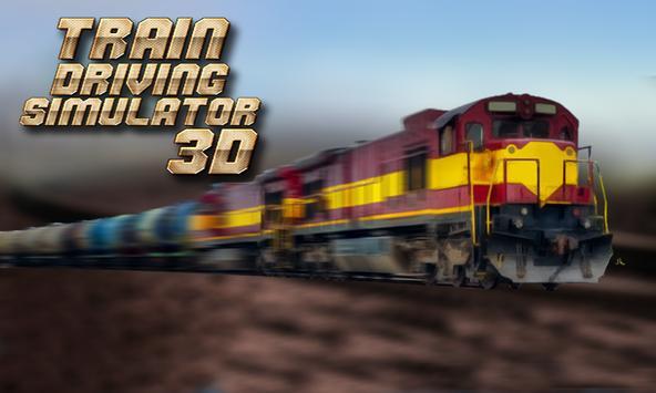Train Driving Simulator 3D poster