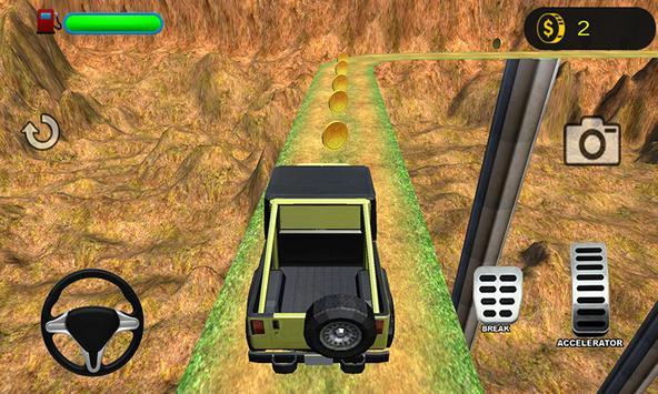 3D Mountain Climb 4x4 apk screenshot