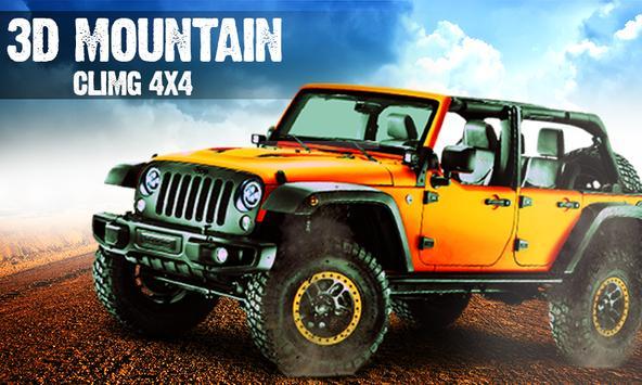 3D Mountain Climb 4x4 poster