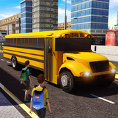 School Bus 3D icon