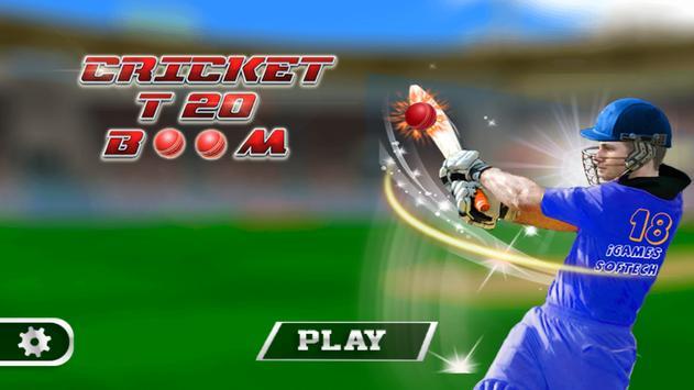Cricket T20 Boom poster
