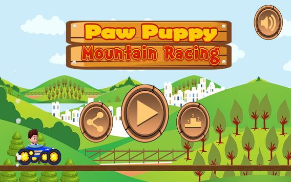 Paw Puppy Mountain Racing screenshot 3