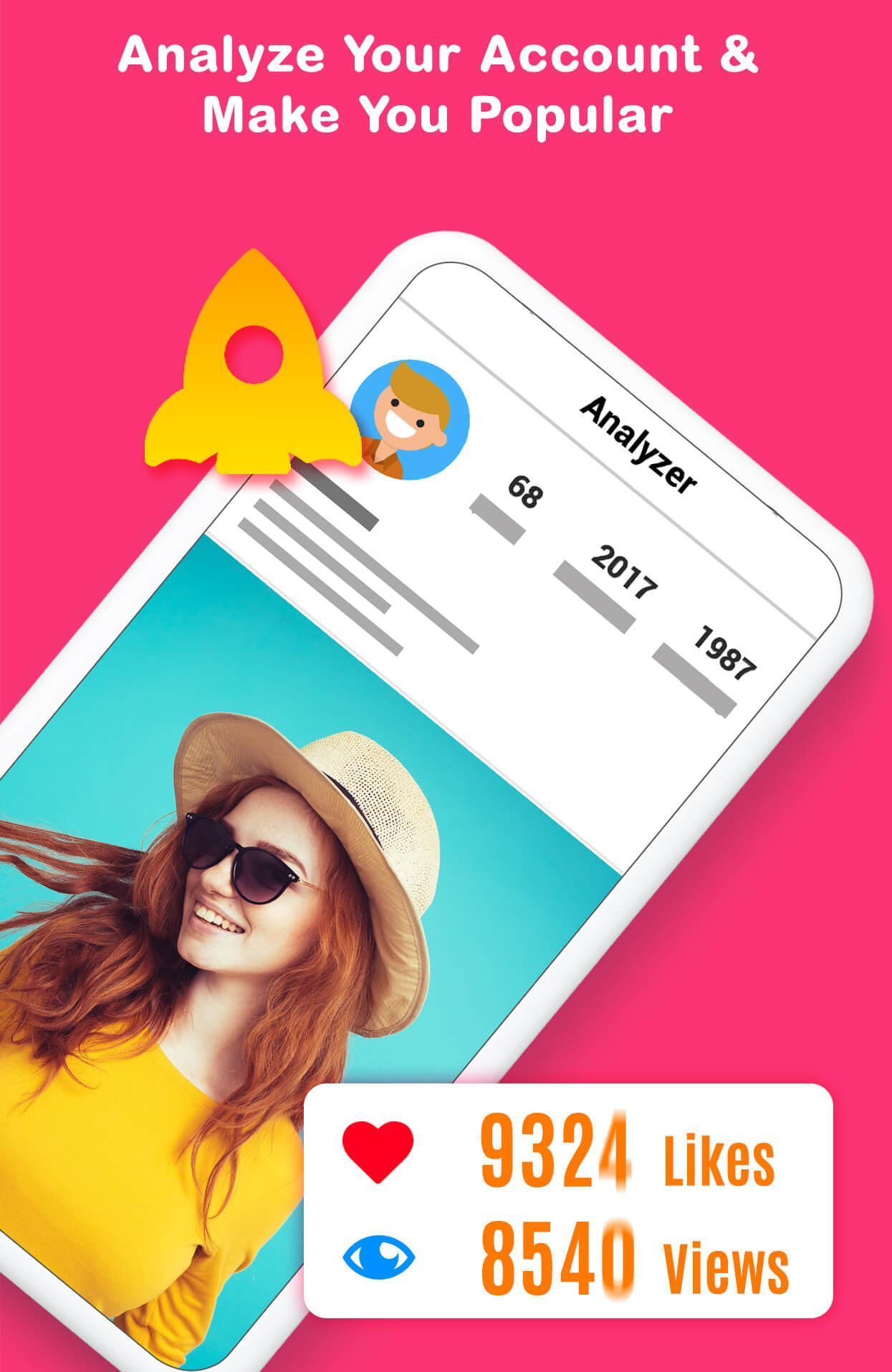 Analyzer for Instagram - Stalker, Follower Tracker for