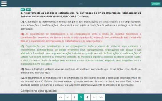 iGabaritei Magistratura screenshot 12