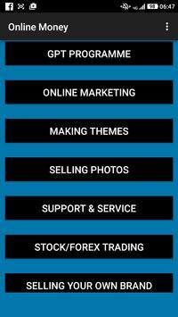 Online Money apk screenshot