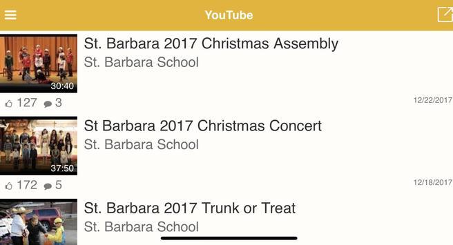St. Barbara School apk screenshot