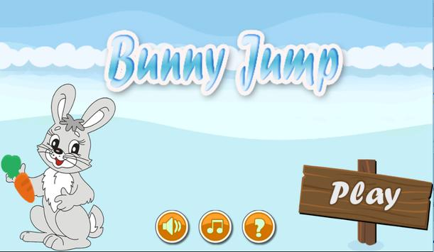 Temple jump bunny poster