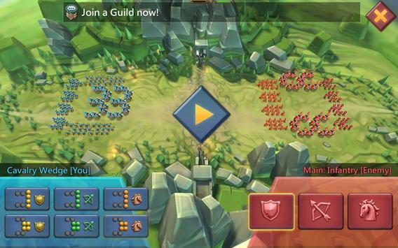Lords Mobile: Guerra de Reinos - Batalla MMORPG captura de pantalla de la apk