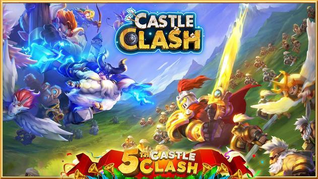 10 Schermata Castle Clash