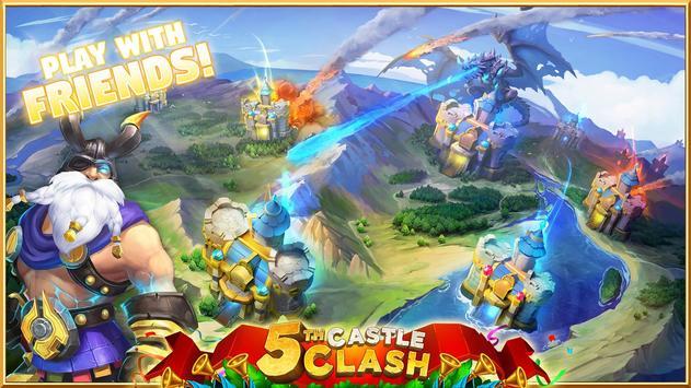 4 Schermata Castle Clash