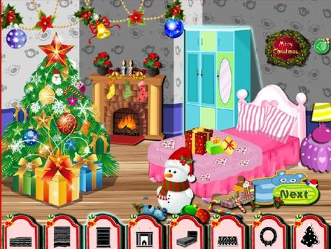 Christmas Room Decorating captura de pantalla 1