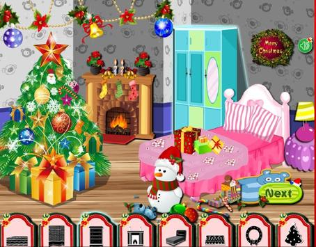 Christmas Room Decorating captura de pantalla 3