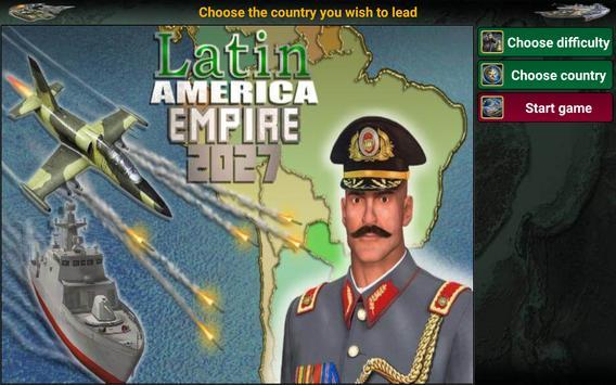 8 Schermata America Latina Impero 2027